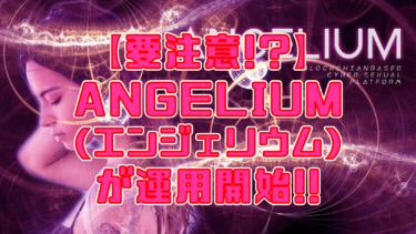 【要注意!?】ANGELIUM(エンジェリウム)運用開始!!